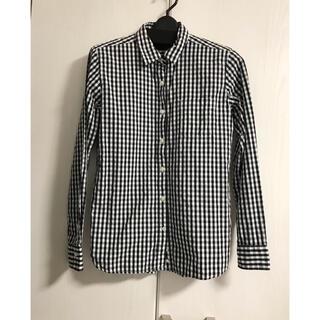 MUJI (無印良品) - 無印良品 MUJI チェック柄 洗いざらし 長袖シャツ