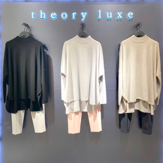 Theory luxe - theory luxe 20AW 21SS ポンチョ風プルオーバー ニット