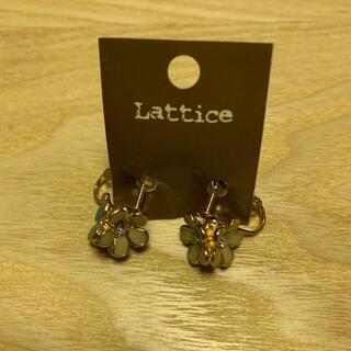 リリーブラウン(Lily Brown)の新品 イヤリング lattice お花イヤリング(イヤリング)