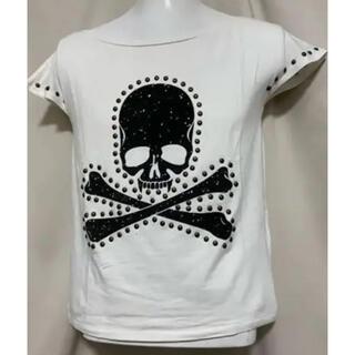 Roen - Roen ロエン  メタルスタッズ ドクロ Tシャツ カットソー ホワイト S