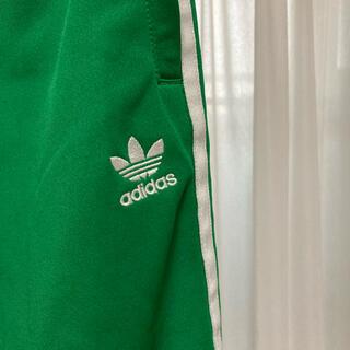 adidas - adidas ジャージ パンツ 緑