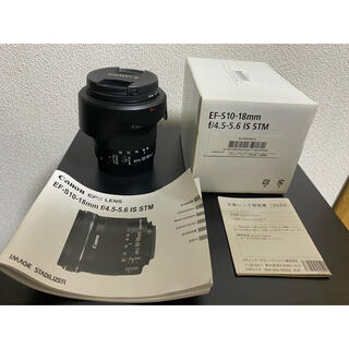 Canon - EF-S 10-18mm f/4.5-5.6 IS STM
