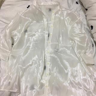 ワンアフターアナザーナイスクラップ(one after another NICE CLAUP)のシアーシャツ(シャツ/ブラウス(長袖/七分))