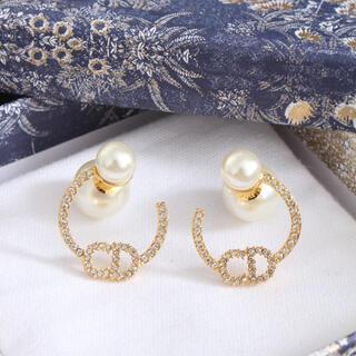 Dior - パール ゴールド ピアス クリスチャンディオール Dior