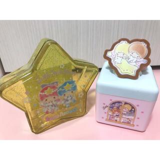 リトルツインスターズ - 新品♡サンリオ キキララ 小物入れ2個セット ピューロランド