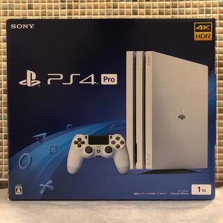 PlayStation4 - 【ほぼ未使用】プレイステーション4 pro CUH-7200 1TB ホワイト