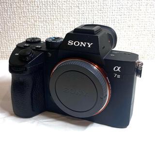 SONY - SONY α7III ILCE-7M3 ボディ