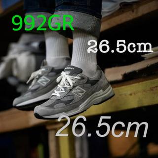 New Balance - 国内正規品 New Balance M992GR 26.5cm