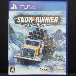 PlayStation4 - スノーランナー