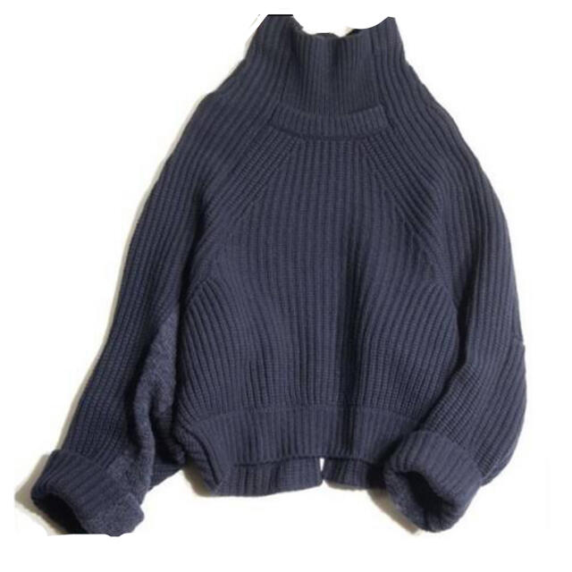 TOGA(トーガ)のTOGA pulla トーガ ニットネイビー レディースのトップス(ニット/セーター)の商品写真