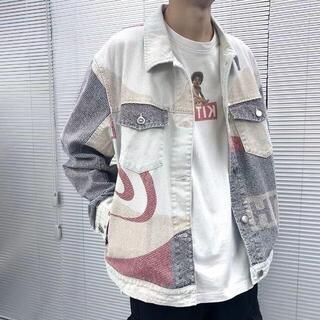 Kith スプライシング デニムジャケット(テーラードジャケット)