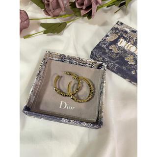 Dior - ディオールヴィンテージ風フープピアス