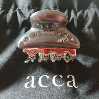 アッカ(acca)のacca 銀座six限定カスタム ティアラクイーン クリップ 小サイズ アッカ(バレッタ/ヘアクリップ)