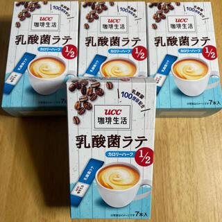 UCC - UCC上島珈琲 珈琲生活 1杯100億個配合 乳酸菌ラテ カロリーハーフ 4箱分