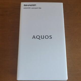 【新品未開封】AQUOS sense4 lite SH-RM15 ブラック
