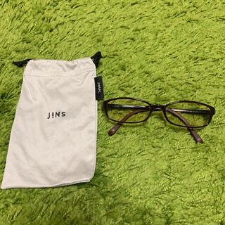 JINS - 【JINS】Air frame PC-12S-001C ブルーライトカットメガネ