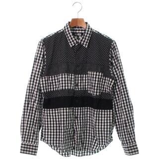 BLACK COMME des GARCONS - BLACK COMME des GARCONS カジュアルシャツ メンズ