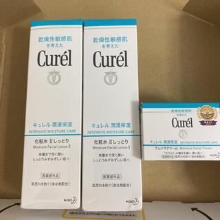 Curel - キュレル 潤浸保湿フェイスクリーム1個&化粧水 II 150ml2本
