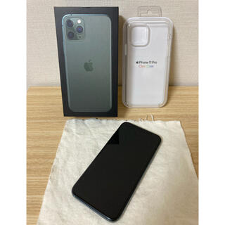 Apple - iPhone11Pro 256G ミッドナイトグリーン SIMフリー
