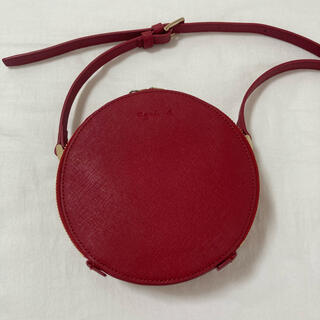 agnes b. - 美品⭐︎アニエスベー 丸型ショルダーバッグ