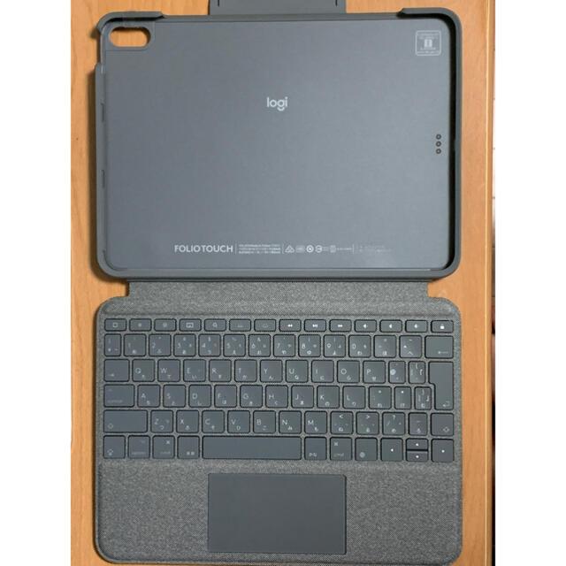 iPad(アイパッド)のLogicool FOLIO TOUCH iPad Air4用 スマホ/家電/カメラのスマホアクセサリー(iPadケース)の商品写真