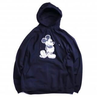 ナンバーナイン(NUMBER (N)INE)のoversized Mickey Mouse pullover hoodie(パーカー)