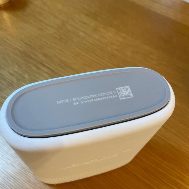 BOSE(ボーズ)のBOSE SoundLink Color II ホワイト 中古 スマホ/家電/カメラのオーディオ機器(スピーカー)の商品写真