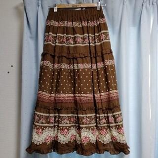 アクシーズファム(axes femme)の3256アクシーズスカートM(ロングスカート)