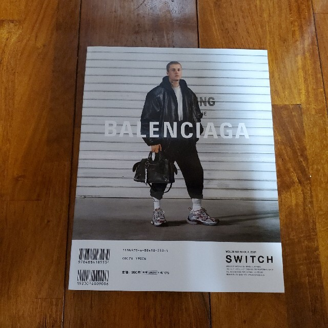 V6表紙 SWITCH Vol.39 No.10(OC エンタメ/ホビーの本(アート/エンタメ)の商品写真