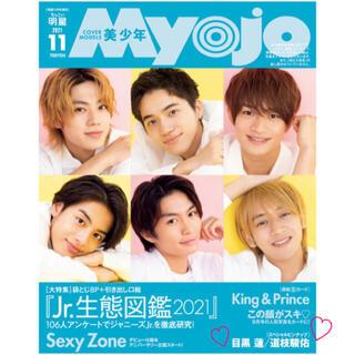 Myojo 11月号 ちっこい版 ピンナップ