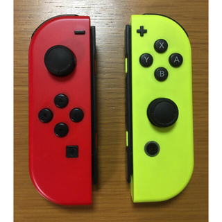 Nintendo Switch - ジョイコン  Lマリオレッド Rネオンイエロー