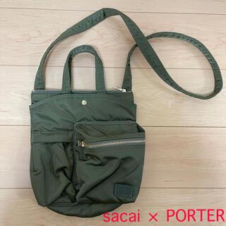 サカイ(sacai)のsacai × PORTER ショルダーバッグ(ショルダーバッグ)