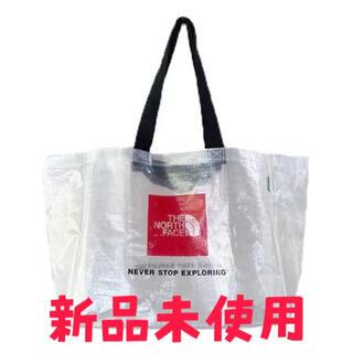 THE NORTH FACE - 【新品未使用】ノースフェイス クリアトートバッグ 韓国 ホワイトレーベル