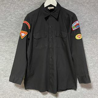 Dickies - ディッキーズ Dickies ワークシャツ  ワッペン 90s USA製 緑