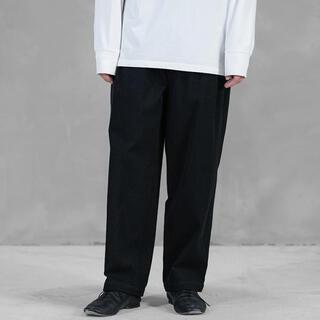 コモリ(COMOLI)のwirrow cotton twill tuck pants(チノパン)