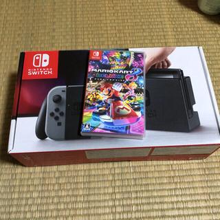 Nintendo Switch - ニンテンドースイッチ 本体 グレー マリオカート8付