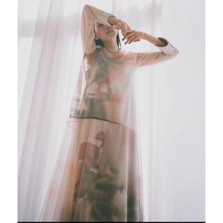 Ameri VINTAGE - sayo nagase spring morning collab dress