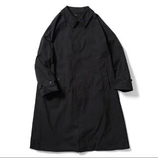 LENO バルカラーコート ブラック