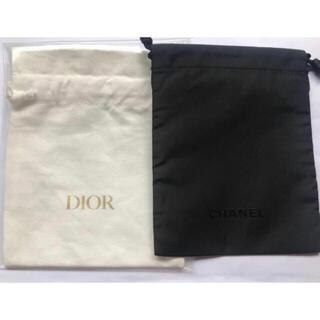 ディオール(Dior)のシャネル ディオール 巾着ポーチ 2枚 ノベルティ(その他)