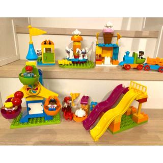 """Lego - レゴデュプロ デュプロのまち""""おおきな遊園地"""" 10840"""
