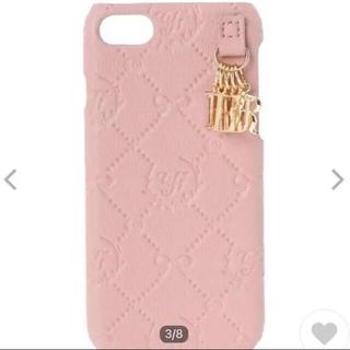 Maison de FLEUR - メゾンドフルール iPhone7.8.SE スマホケース ピンク