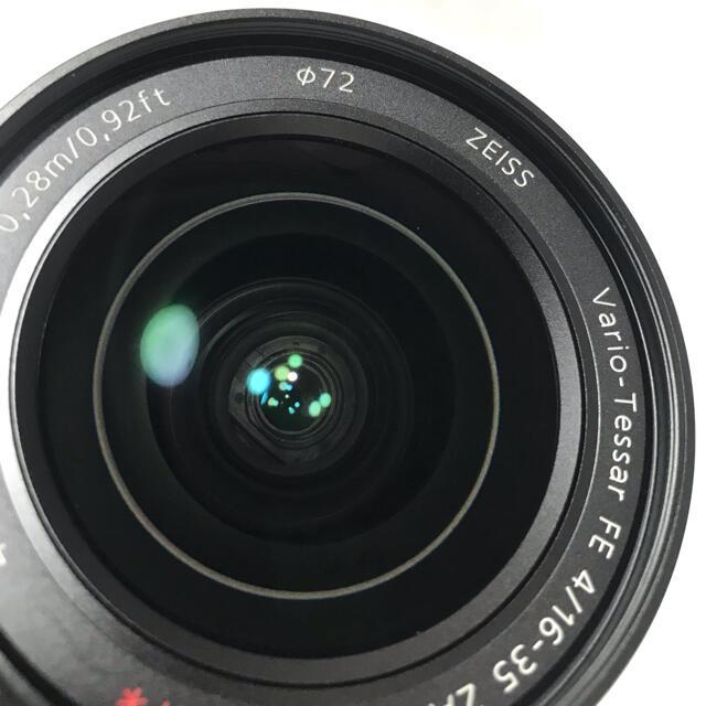SONY(ソニー)のSONY ソニー SEL1635Z 16 35 zeiss F4 E マウント スマホ/家電/カメラのカメラ(レンズ(ズーム))の商品写真