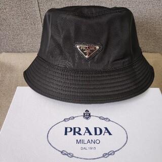 PRADA - 美品❥試着のみ プラダ 帽子 ハット 黒