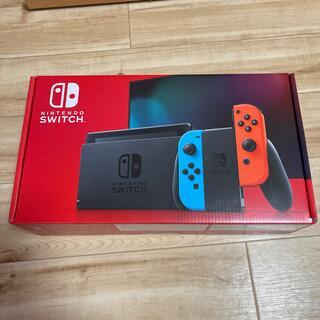 ニンテンドースイッチ(Nintendo Switch)のニンテンドースイッチ(L) ネオンブルー/(R) ネオ 未使用品(家庭用ゲーム機本体)
