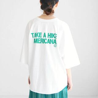 アメリカーナ(AMERICANA)のAMERICANA★2021SS バックプリント ベースボールTEE(Tシャツ(長袖/七分))