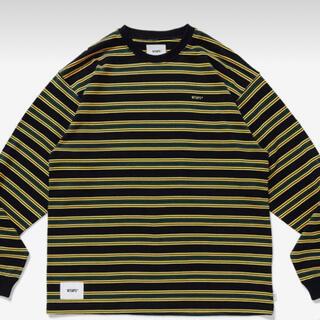 ダブルタップス(W)taps)のXL JAM 01 LS COTTON BK ブラック(Tシャツ/カットソー(七分/長袖))