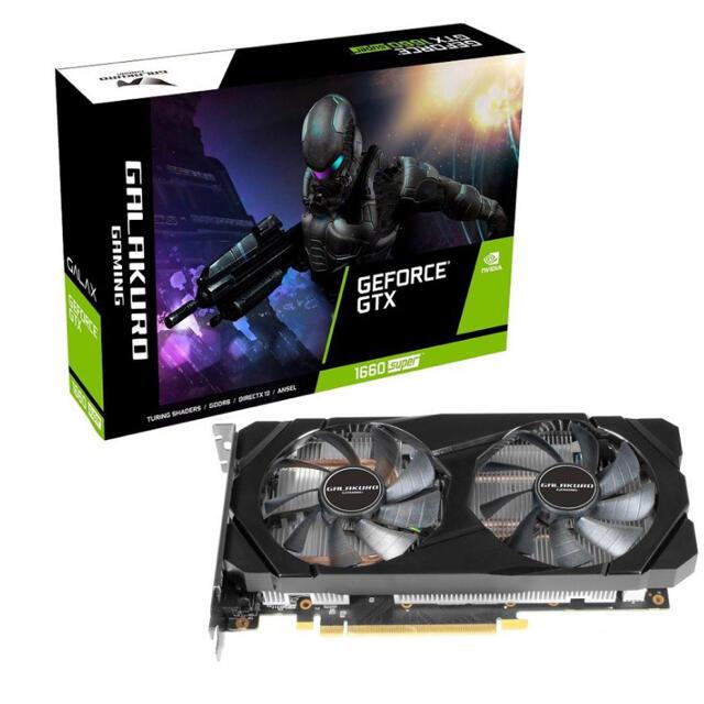 玄人志向 GeForce GTX 1660 SUPER 新品未使用 スマホ/家電/カメラのPC/タブレット(PCパーツ)の商品写真
