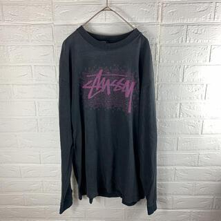 ステューシー(STUSSY)のUSA製 オールドステューシー ヴィンテージ ロンT(Tシャツ/カットソー(七分/長袖))