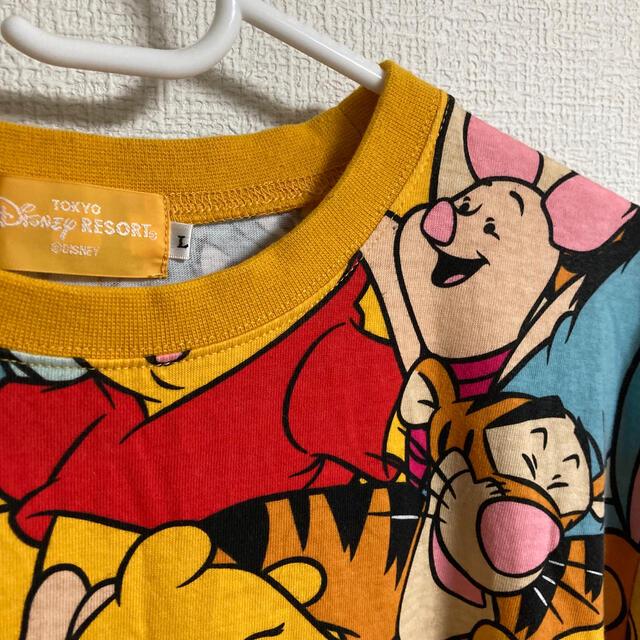 Disney(ディズニー)のプーさんTシャツ レディースのトップス(Tシャツ(半袖/袖なし))の商品写真