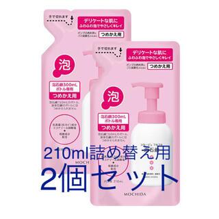 コラージュフルフル(コラージュフルフル)のコラージュフルフル泡石鹸 ピンク つめかえ用210ml 2つセット(ボディソープ/石鹸)